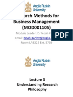 Lecture 3 Understanding Research