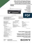 Sony Cdx-gt47u Gt420 Gt427 Gt470u Us