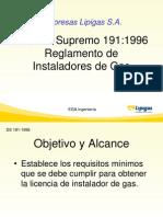 1.- Presentación DS 191