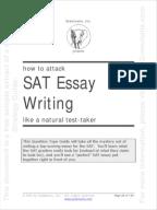 You can lie on the SAT Essay eSAT Prep Tips com