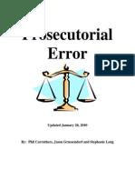 2010.01.20 Prosecutorial Error