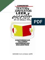 Ponencias Congreso Textos Contextos