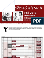 Scarborough Schedule 2013