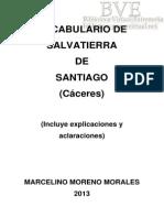 Vocabulario de Salvatierra de Santiago (Cáceres)