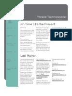 Pinnacle Team August Newsletter