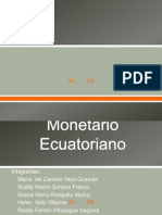 Regimen Monetario (Art. 6-10)