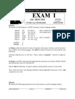 Exam 1 Spring 2012
