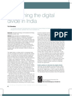 2007113909-NORASFAHANA BTE JAMIL-DIMINISHING THE DIGITAL DIVIDE IN INDIA