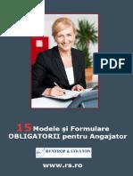 Formulare Obligatorii Pentru Angajator