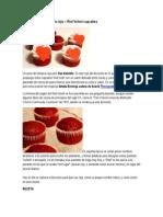 Cupcakes de Terciopelo Rojo