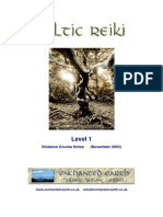 Celtic Reiki Level 1