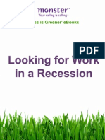 Looking for Work in a Recession