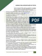 RBDC-19-493-Normas Para Apresentacao de Textos