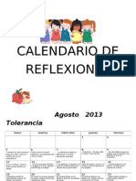 Calendario de Reflexiones 2013-2014 1er Sem