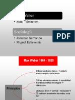 Max Weber Racionalización