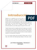 LACTANCIA MATERNAAAAAA