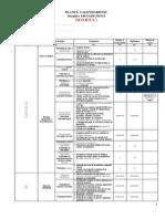Clasa VI - EFS - Planul Calendaristic Semestrial