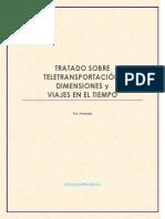 Tratado Sobre Teletransportacion Dimensiones y Viajes en El Tiempo Por Arkangel