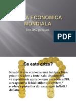 Criza Economica Mondiala Din 2008-2012