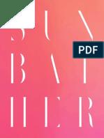 Sunbather Album Booklet