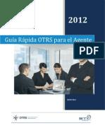 Guía Rápida OTRS para el Agente UChile