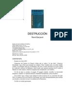 Barjavel René - Destruccion