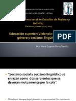 I Congreso Internacional en Estudios de Mujeres y