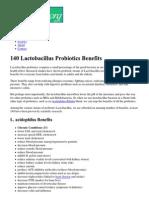 The 140 Benefits of Probiotic Lactobacillus _ Probiotics