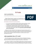 Info Sobre El Te Verde