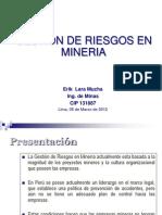 Gestión de Riesgos en Mineria