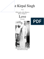 Sant Kirpal Singh on Love (1)