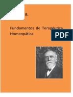 Fundamentos de Terapeutica Homeopatica