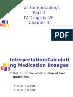 Basic Computations 2 IV IVF