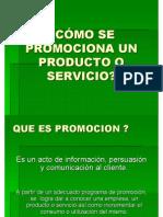 Como Se Promociona Un Servicio