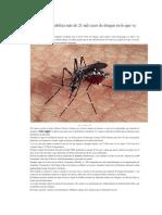 Venezuela contabiliza más de 21 mil casos de dengue en lo que va de 2010
