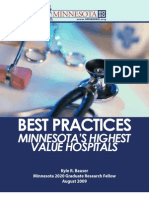 Best Practices - Minnesota's Highest Value Hospitals