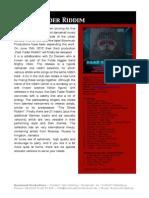 Dark Fader Riddim - Pressinfo En