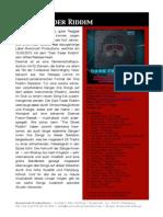 Dark Fader Riddim - Pressetext