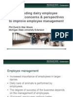 What Dairy Employees Tell UsHR Webinar