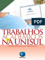 Trabalhos Acadêmicos Na Unisul - 2012