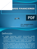 2.Los Estados Financieros