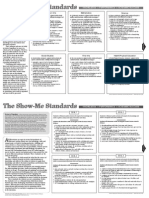 show me standards placemat