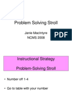 Thinking Maps Instructional Strategy Problem Solving Stroll