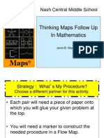 Thinking Maps Instructional Strategy Math What's My Procedure