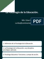 Ps de La Edu e Intervencion Educativa