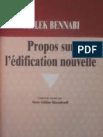 Bennabi pdf malek livre