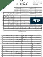 A Ballad Conductor Score
