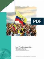 SENPLADES Participación Ciudadana