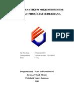 Membuat Program Sederhana