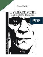 Frankenstein o El Moderno Prometeo-Libro